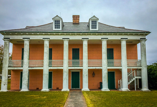 Malus-Beauregard House at the Chalmette Battlefield
