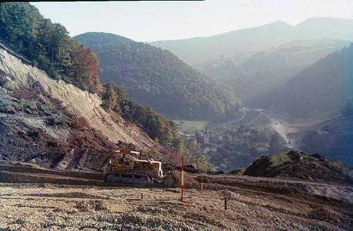 Erdrutsch / Landslide Eptingen, Baselland 1969