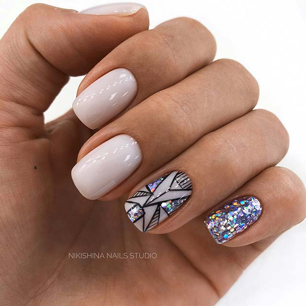 30+ Best Nail Art Designs for Short Acrylic Nails - Fashion 2D
