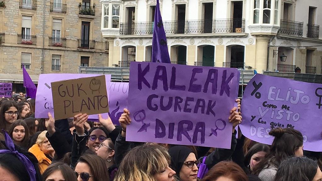 Huelga Feminista 2019 Vitoria-Gasteiz