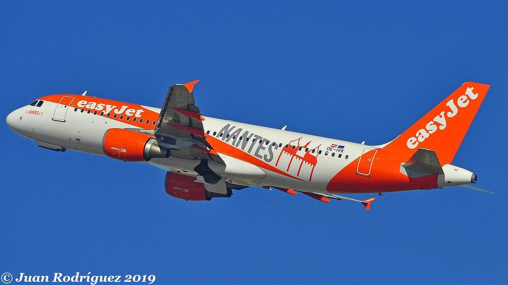 OE-IVK - easyJet Europe - Airbus A320-214 - PMI/LEPA
