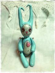 Aqua Voodoo Bunny: Week Two