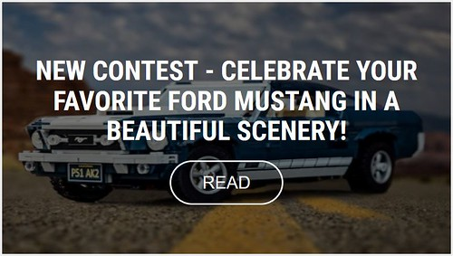 Ford Mustang Scenery Contest