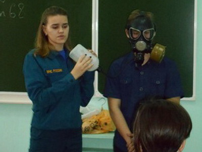 """профессиональная проба """"Я спасатель МЧС"""""""