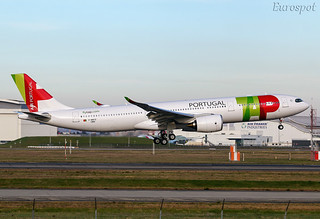 F-WWYZ Airbus A330 NEO Air Portugal