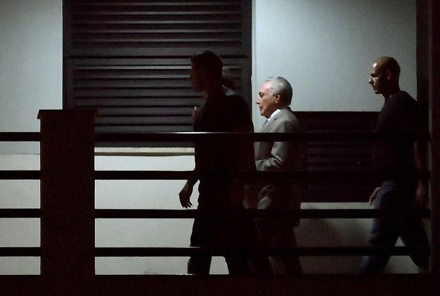 Court orders release of Brazilian ex-president Michel Temer, who was arrested on Thursday - Créditos: Mauro Pimentel/AFP