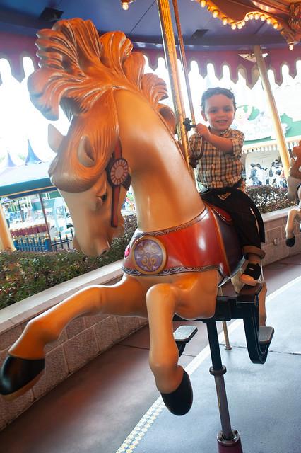 Hong Kong Disneyworld Carosel