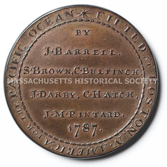 Columbia and Washington medal reverse