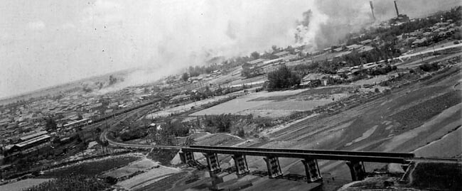Attack on the Shinei alcohol plant