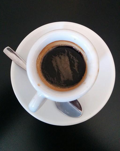 Espresso #toronto #northyork #columbuscentre #caffecinquecento #coffee #espresso