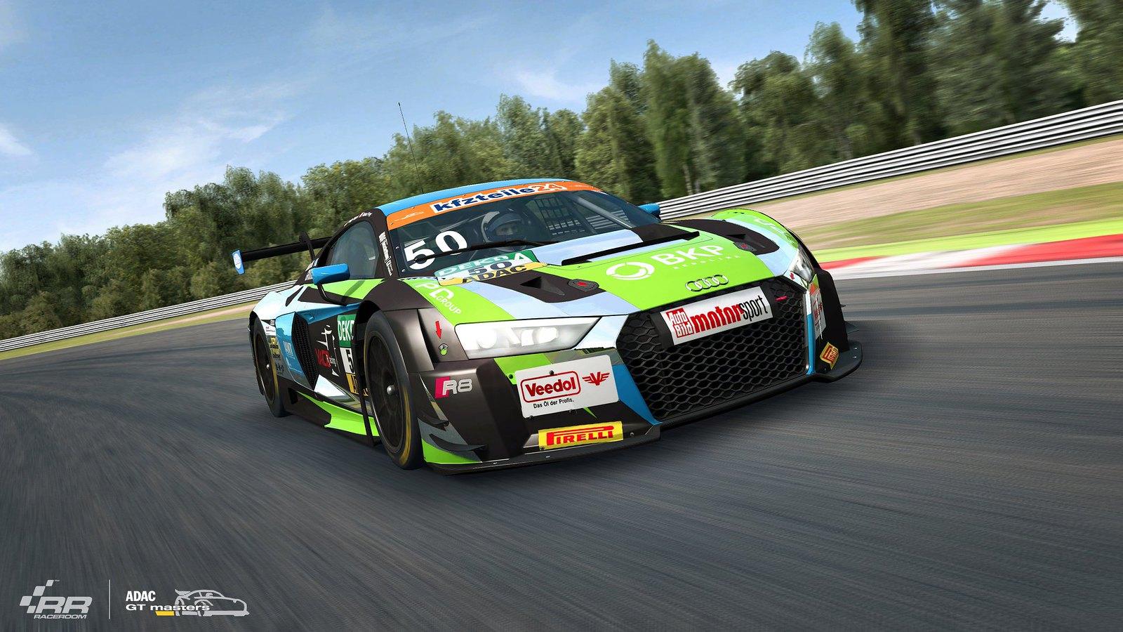 RaceRoom 2018 ADAC GT Audi 5