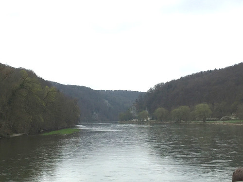 09 - Blick über die Donau - Donaufahrt zum Kloster Weltenburg