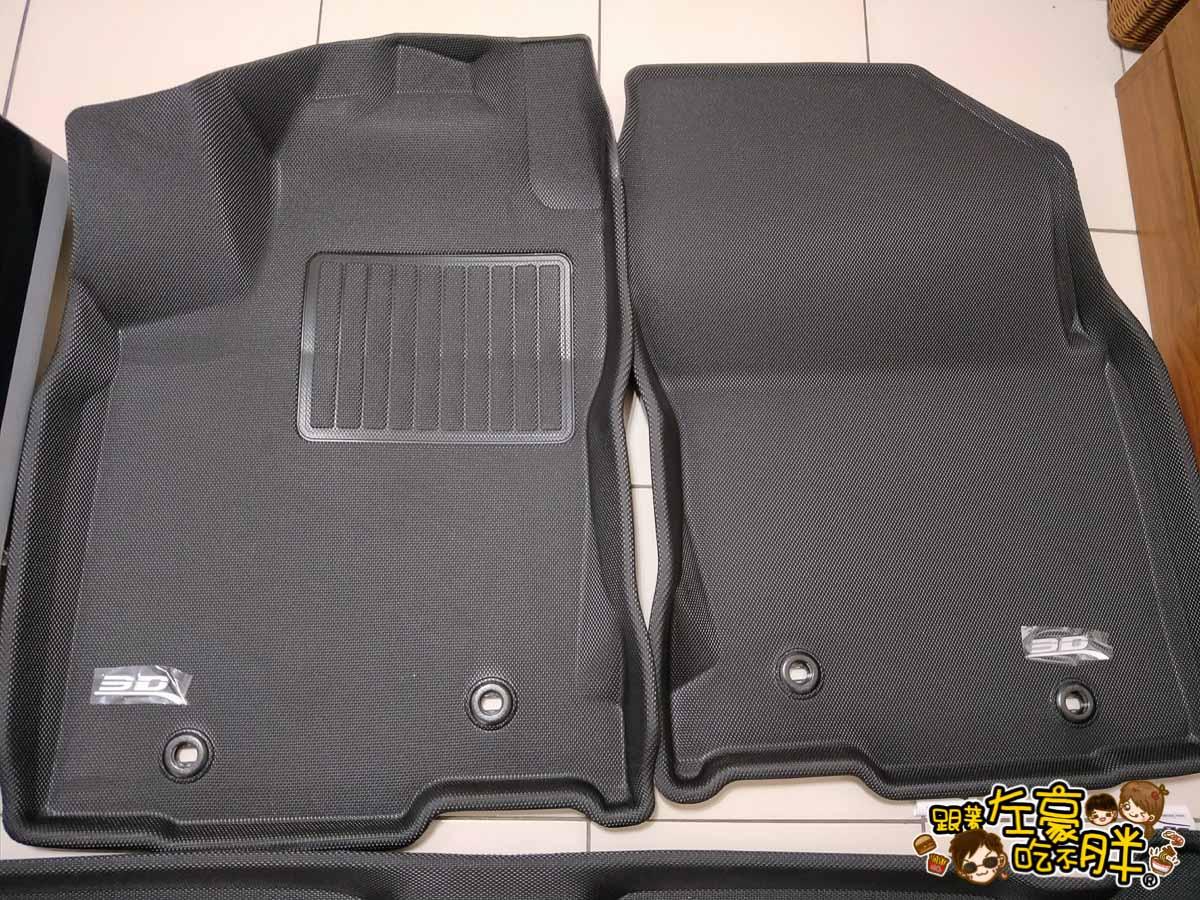 3D卡固立體汽車踏墊+後托盤-21