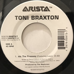 TONI BRAXTON:HIT THE FREEWAY(LABEL SIDE-A)