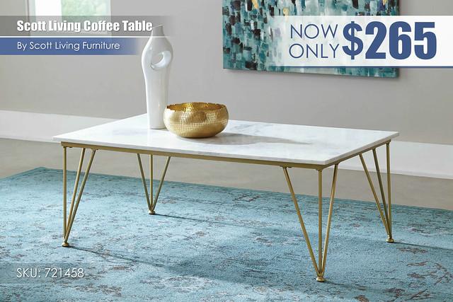 Scott Living Coffee Table_721458