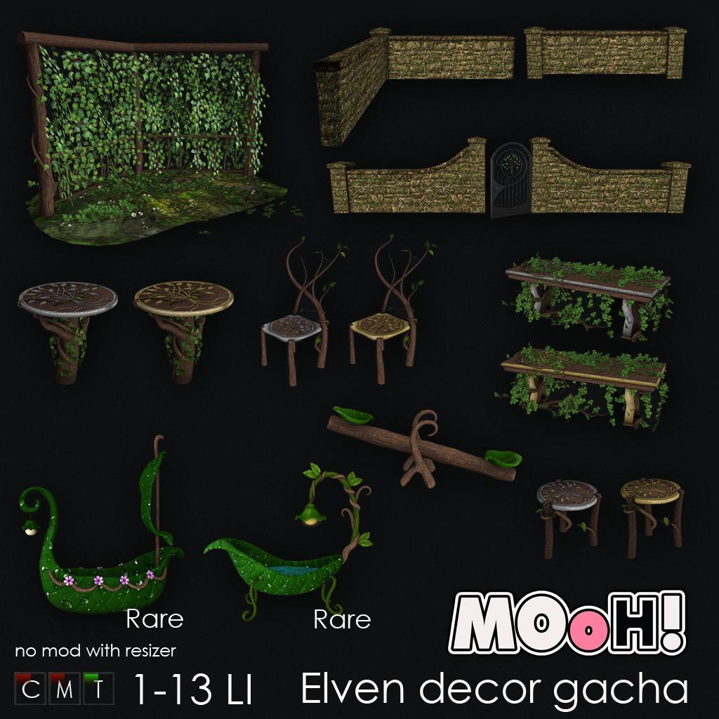 MOoH! Elven decor gacha - TeleportHub.com Live!