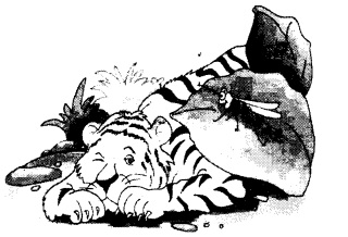 NCERT Solutions for Class 1 English Chapter 17 The Tiger and the Mosquito 4