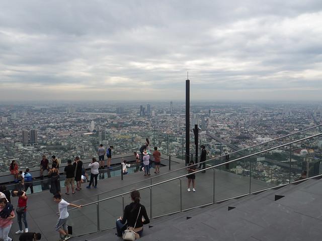 P1030905 マハナコン スカイウォーク(Mahanakhon Skywalk) 超高層展望台 Bangkok バンコク ひめごと