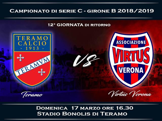 Teramo Calcio - Virtus Verona 1-2 FINALE