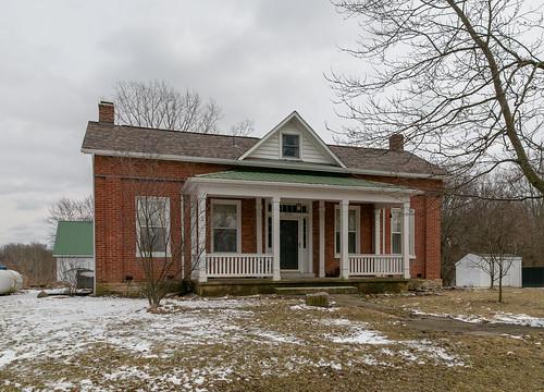 Thomas Finch House (?) — Amity, Ohio