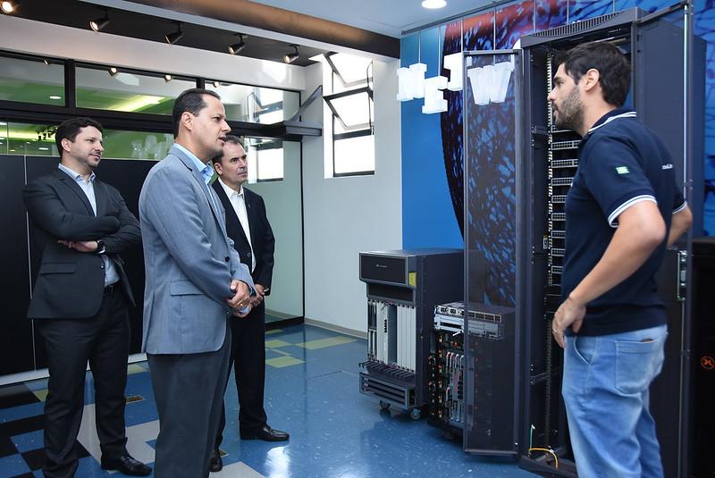 Inauguração Laboratório Network