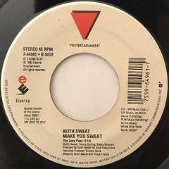KEITH SWEAT:MAKE YOU SWEAT(LABEL SIDE-B)