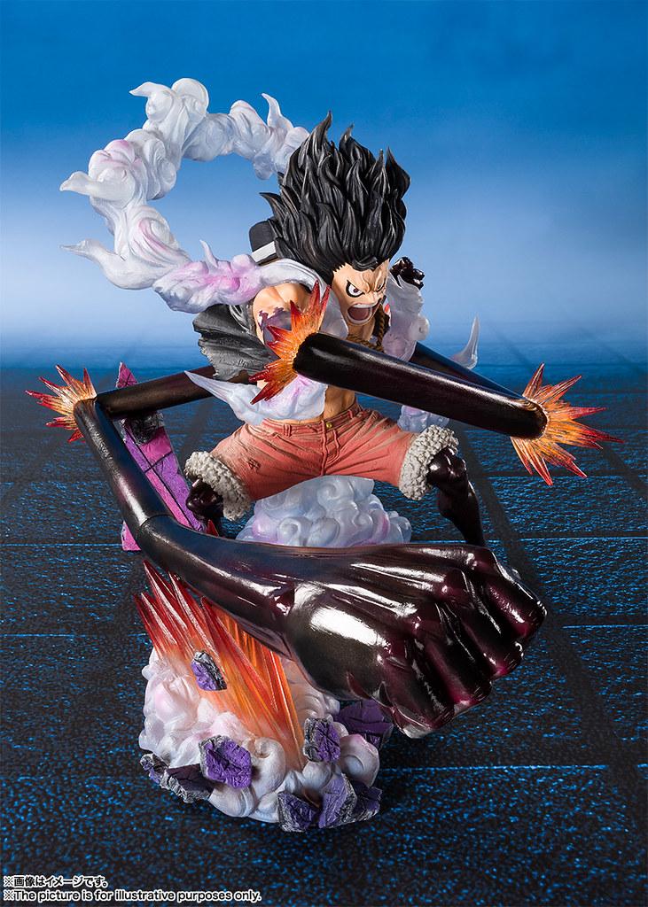 """「官圖新增」給我追上去!!""""大蛇""""!! Figuarts-ZERO 超激戰-EXTRA BATTLE-《ONE PIECE》蒙其·D·魯夫 四檔 -大蛇人・王蛇- モンキー・D・ルフィ ギア4 -スネイクマン・王蛇-"""