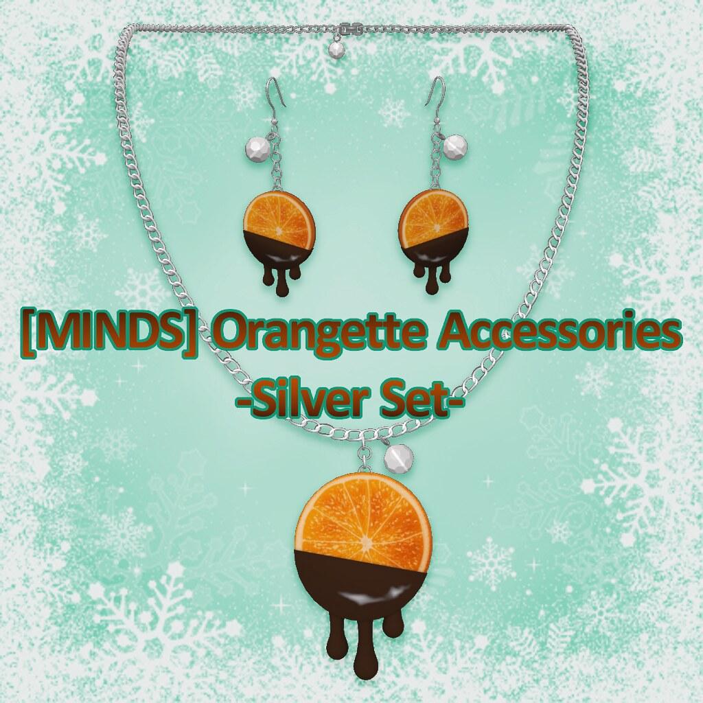 [MINDS] Orangette Accessories Silver Set AD