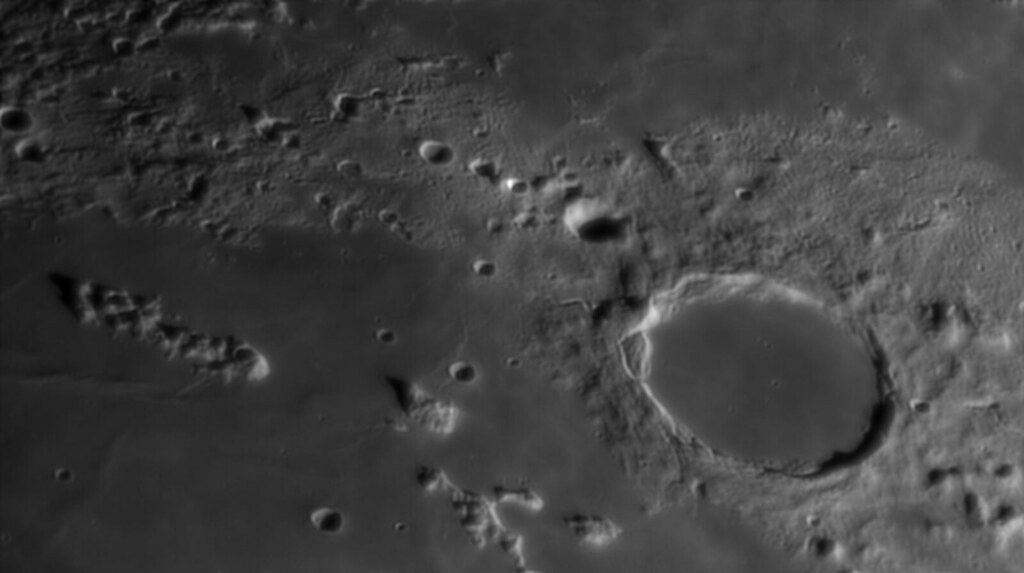 Moon - Plato, Montes Recti und Teneriffe