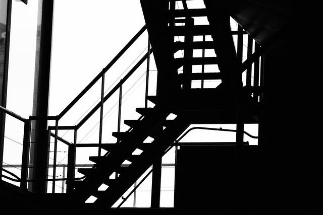Black stair