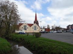 Achicourt, l'église St Vaast et  Le Crinchon - Photo of Bailleulval