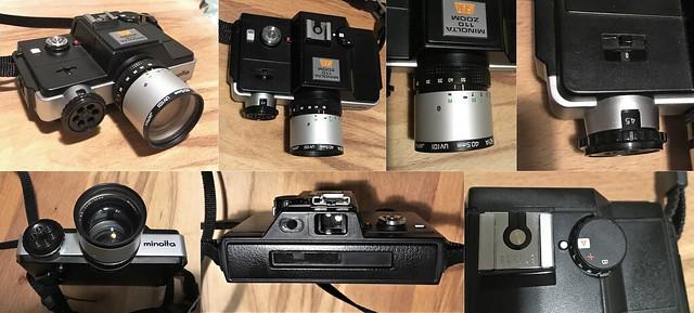Minolta 110 Zoom SLR montage