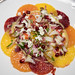 Winter citrus salad - endive, pomegranate, feta cheese, maple vinaigrette