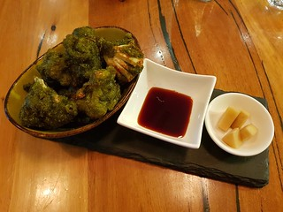 Matcha Tempura Cauliflower at VegeRama West End