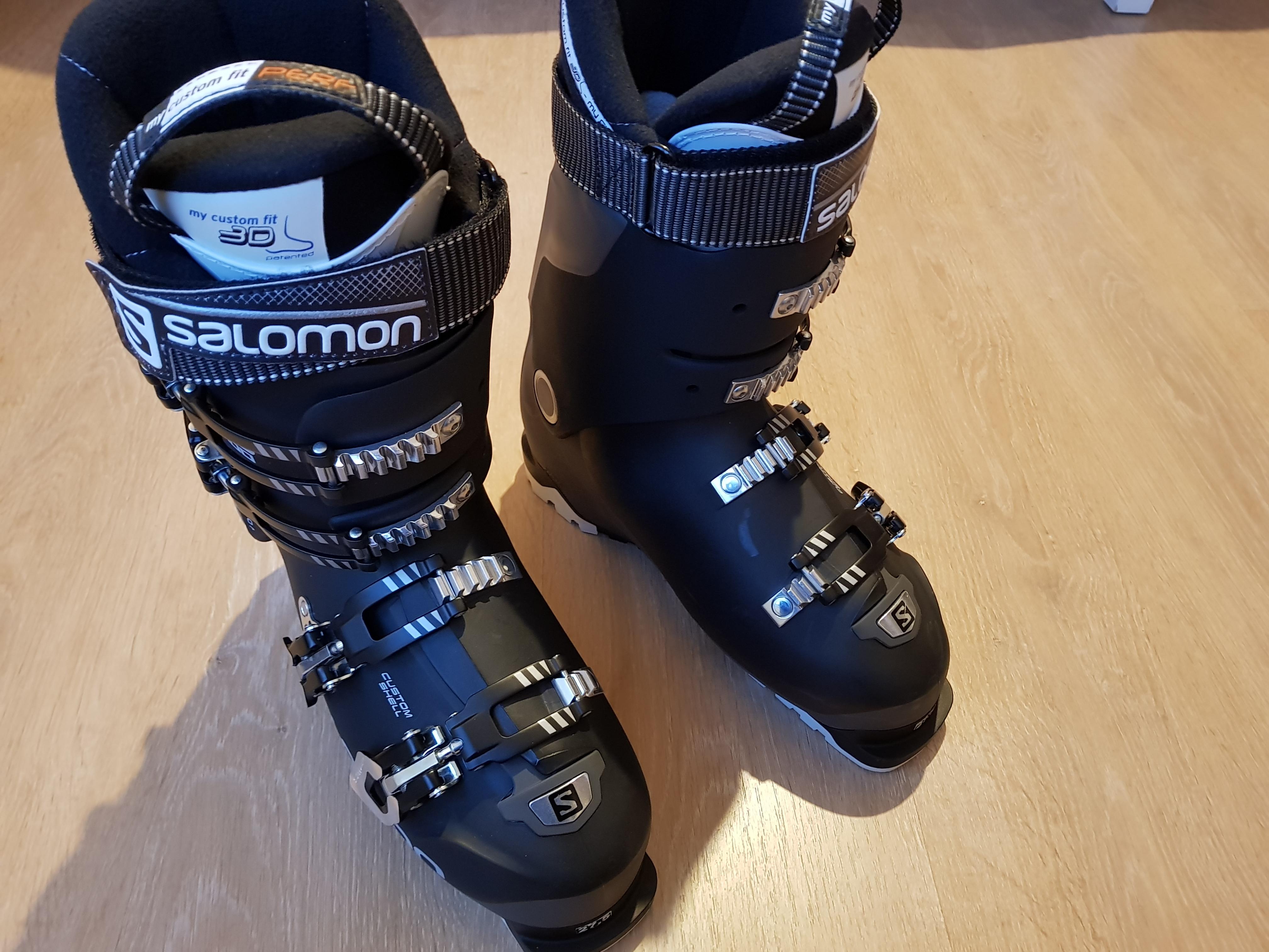 SALOMON X PRO 100 Anthracite Black. Lyžařské boty - Bazar - SNOW.CZ 0b17663edb