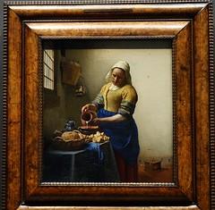 Vermeer, The Milkmaid, ca. 1660; Rijksmuseum, Amsterdam