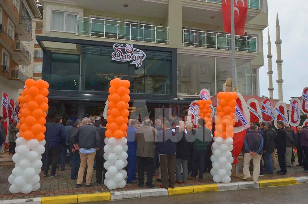 Saray Börekçisi açıldı