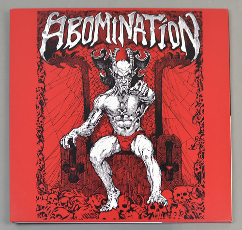 "ABOMINATION DEMOS FOC 12"" LP ALBUM VINYL"