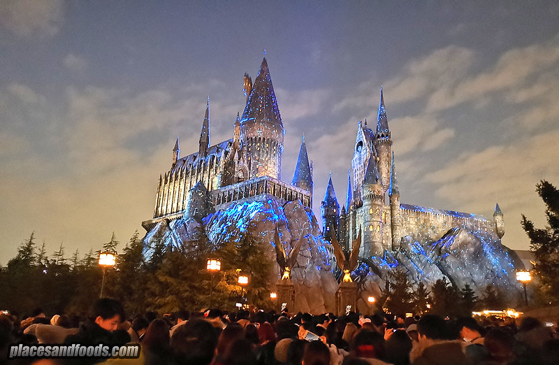 Universal Studios Japan Harry Potter Hogswarts Magical Nights Winter