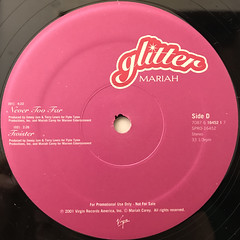 MARIAH CAREY:GLITTER(LABEL SIDE-D)