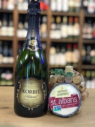 Korbel Natural & Vermont Creamery St. Albans