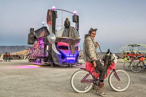 Furry biker and Mutant Vehicle
