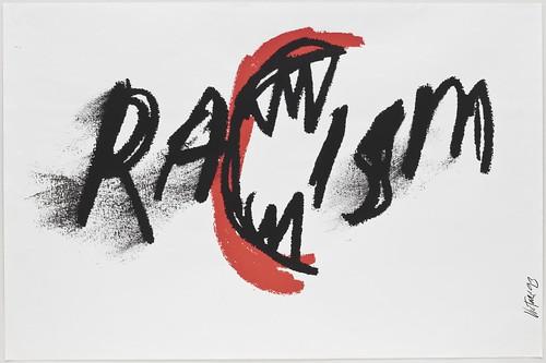 James Victore_RaCism 1993