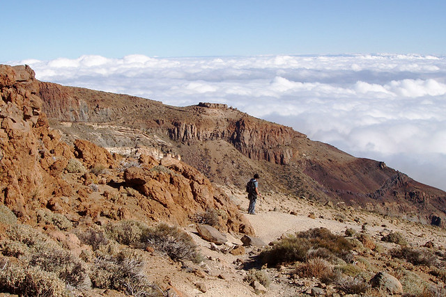 Sea of clouds, south Tenerife