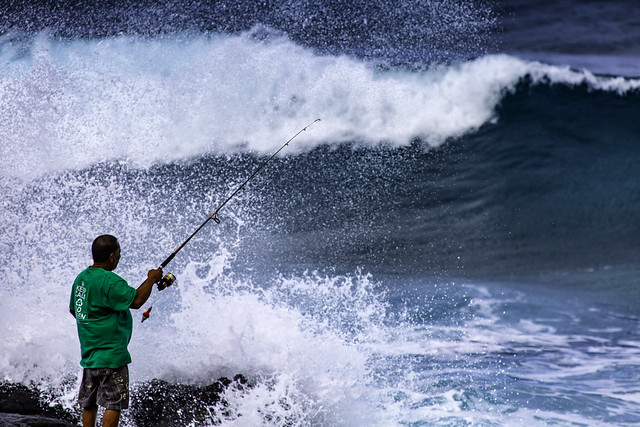 Fishing In Oahu, Hawaii