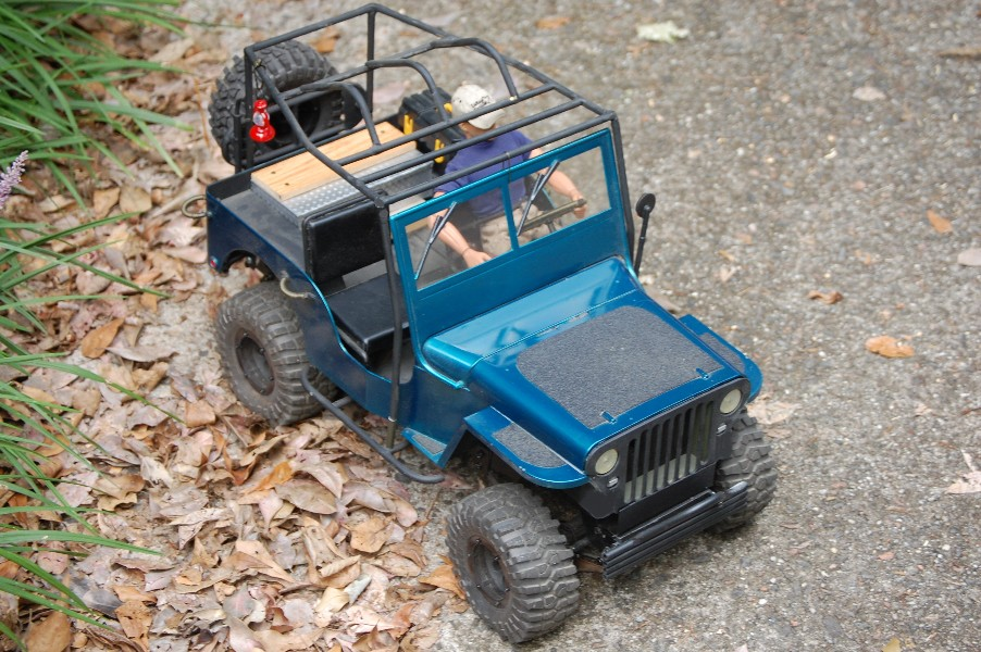 Building an RC sixth scale Jeep 45954819414_91ef7687dc_o