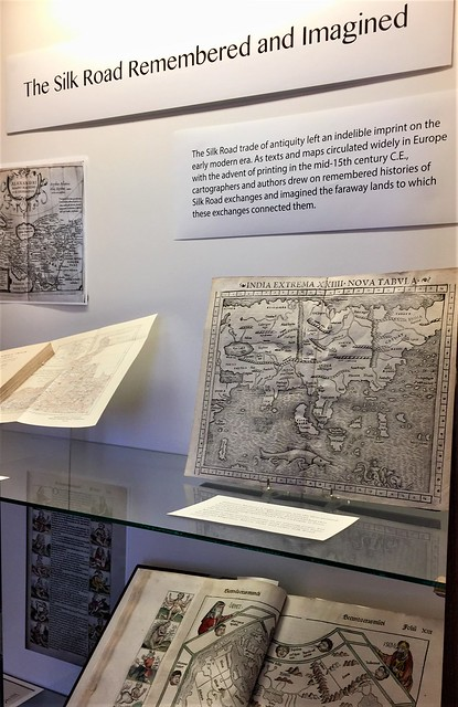 Paper Roads exhibit in ZSR Special Collections & Archives