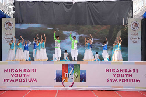 A cultural programme by young devotees