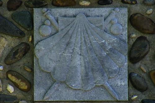 20090530 053 1109 Jakobus Kapelle Muschelzeichen Pilgerzeichen