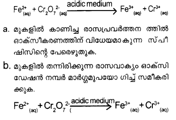 Plus One Chemistry Model Question Papers Paper 4 Q22